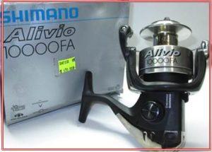 Daftar Harga Reel Shimano Alivio 10000 FA dan Spesifikasi
