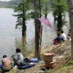 Cara Mancing Casting di Danau
