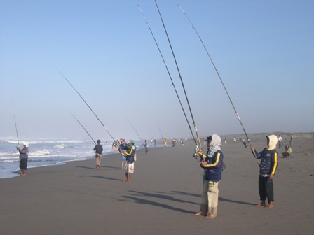 Cara Mancing Surf Fishing